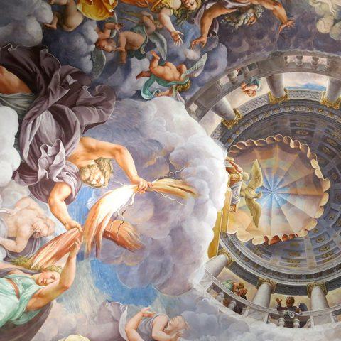 Frescos in Palazzo Te - Mantua