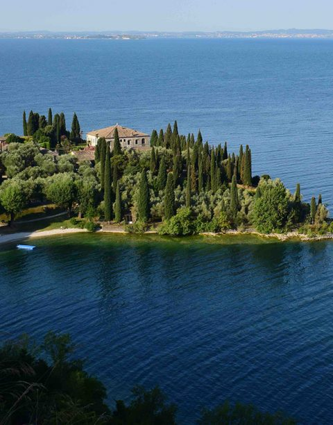 Punta San Vigilio on Lake Garda