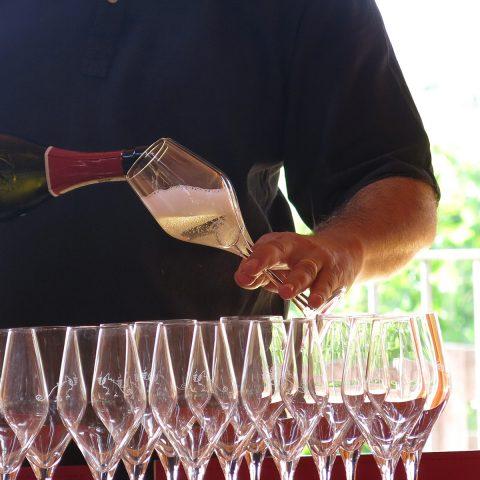 Prosecco wine tasting